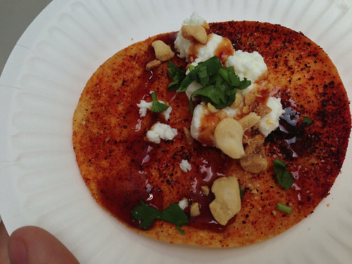 Sol Mexican Cucina: Goat Cheese Tostada