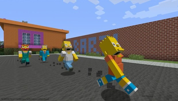 Minecraft_SimpsonsPack_PS4_Screenshot_12