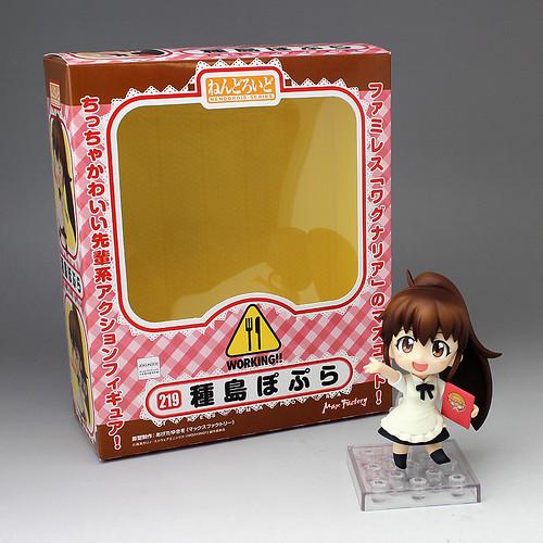 Nendoroid Taneshima Popura and her box