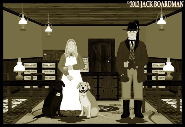 Erik and Susan in Seven Tables ©2012 Jack Boardman