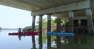 Josh and Alan Under the Bridge