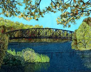 abandoned bridge, northfield