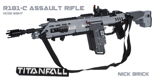 Titanfall R-101C Assault Rifle
