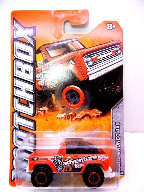 matchbox ford bronco 4x4  (1)