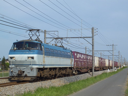 EF66 111 @深谷〜岡部