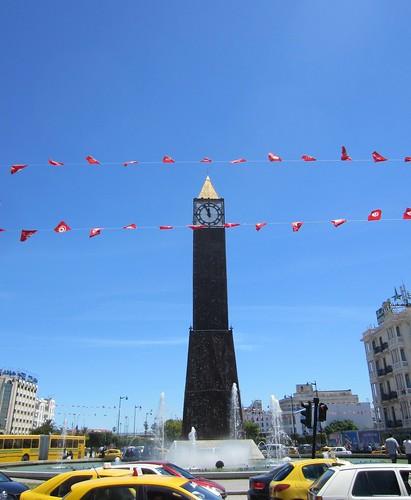 clocktower in tunis