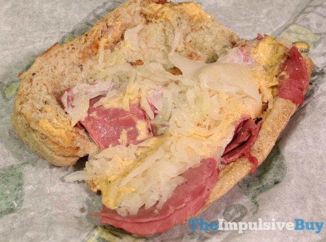 Subway Corned Beef Reuben Sandwich 2