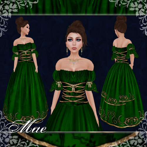 Mae - Gown - Emerald