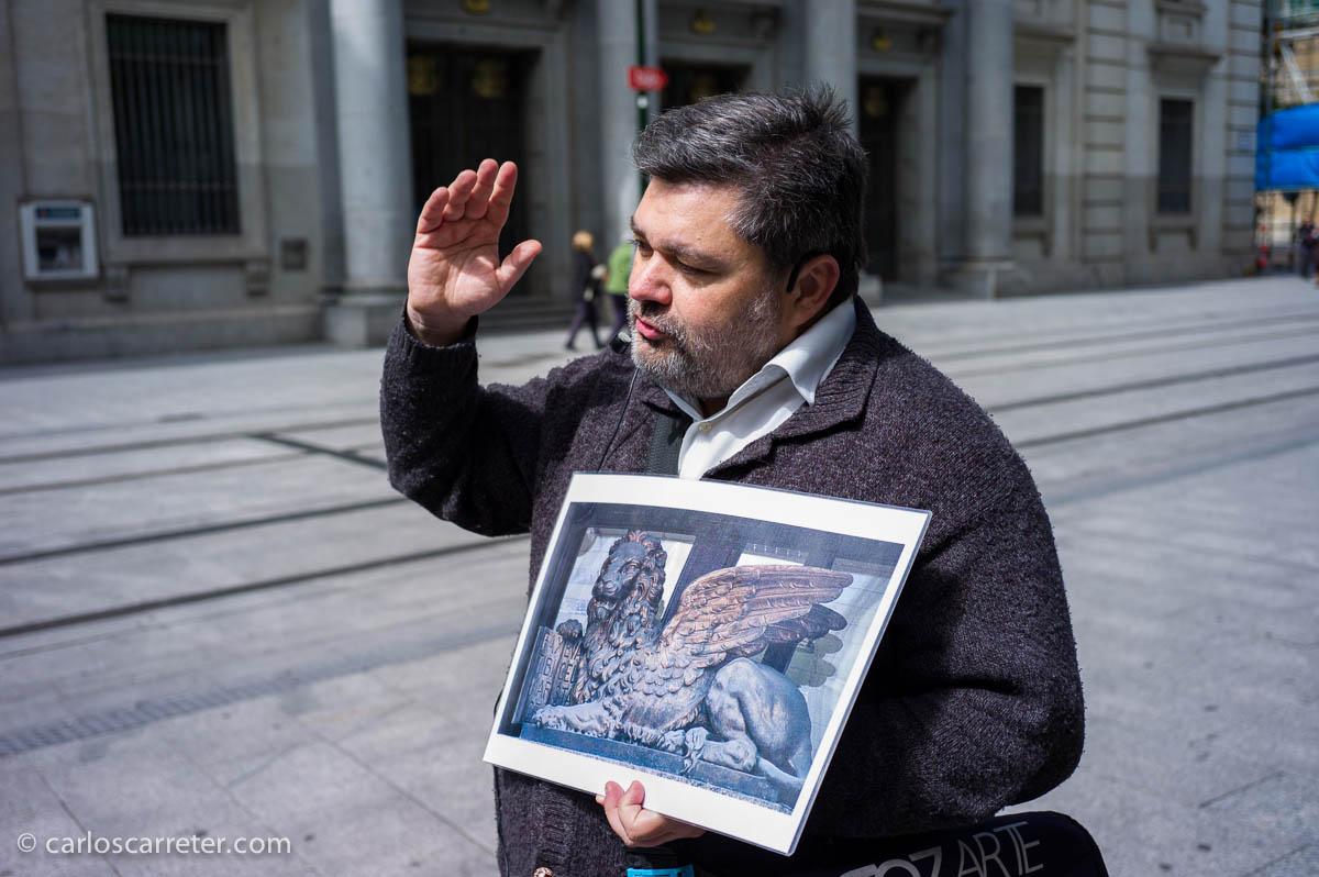 Un león alado de San Marcos, y qué tiene que ver Zaragoza con Venecia