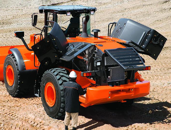 обслуживание Hitachi ZW220-5A