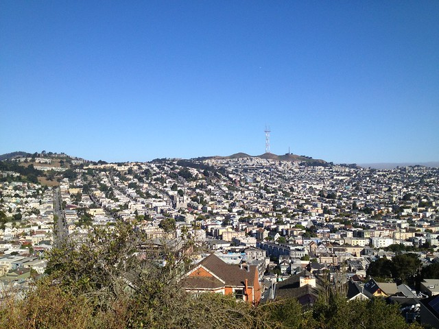 Twin Peaks from Potrero Hill