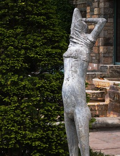 Statue in Kykuit Sculpture Gardens