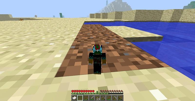 Wooden I Hoe Minecraft Make Do How