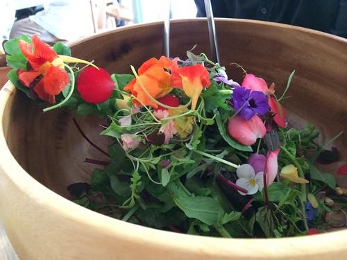 箸休めのサラダが素敵すぎる!@アニス