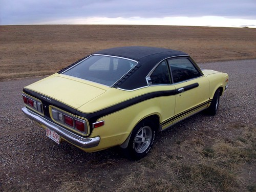 1973 Mazda 808 Coupe - now with Rx-7 wheels