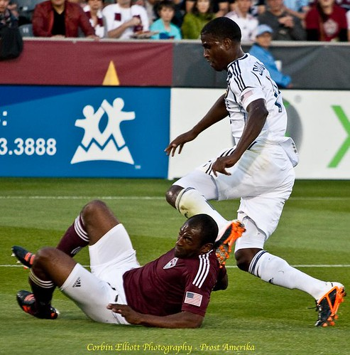 Colorado Rapids vs LA Galaxy Apr 21, 2012 by Corbin Elliott Photography, Westminster Co, photographer