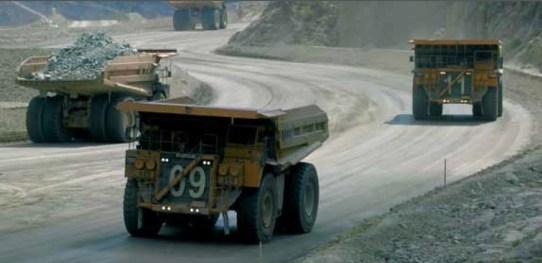 Camiones Bajo de la Alumbrera