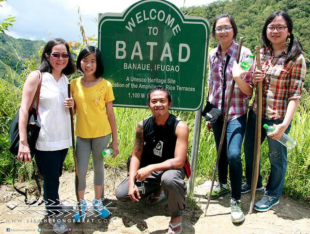 Welcome to Batad, Ifugao marker
