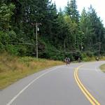 Biking Long Harbour Road