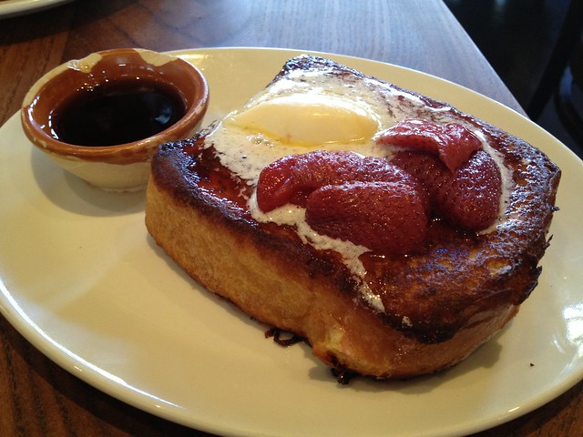 Custard French toast - Nopa