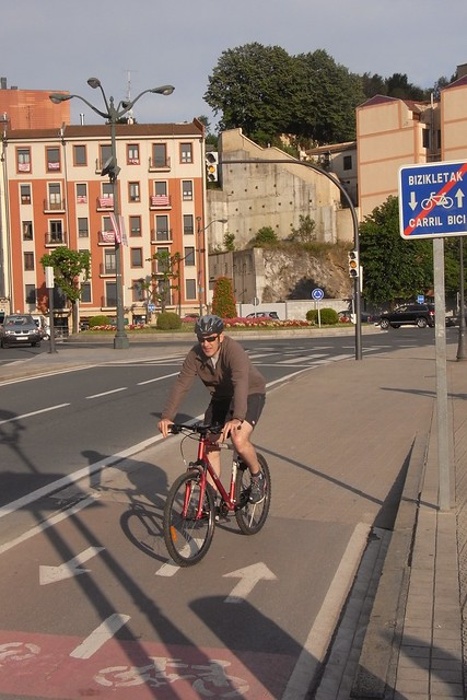 Carril Bici zona Campo Volantin  Bilbao