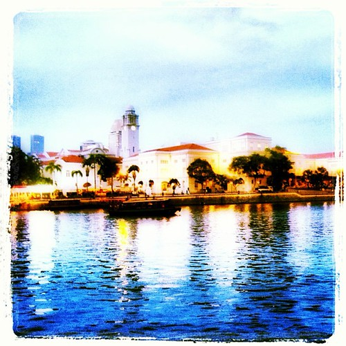 #singapore river view by @MySoDotCom
