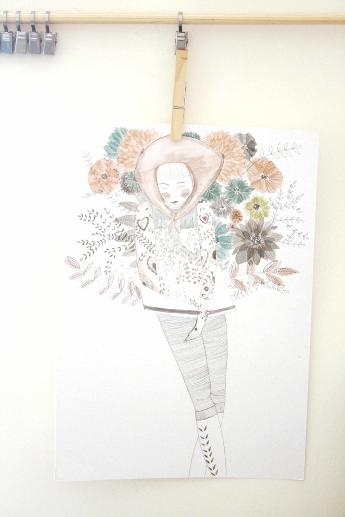 Bloom | Gouache on paper