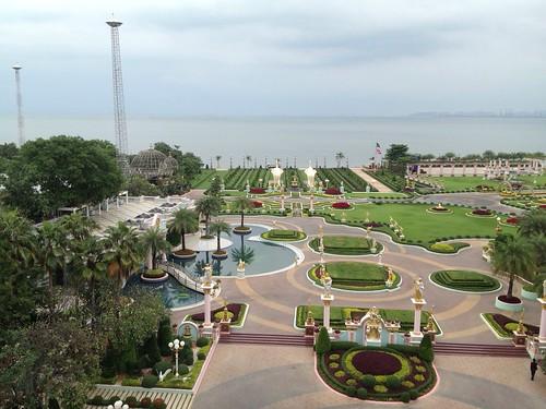 Baan Sukhawadee trädgården
