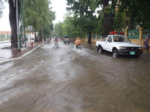 Phnom Penh Rainy Season