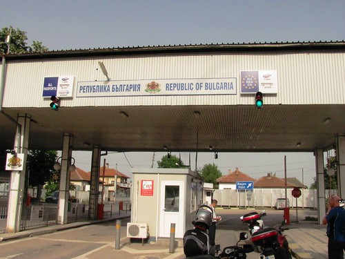 Illegal Picture of Entering Bulgaria