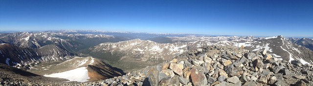 Picture from Grays and Torreys Peaks, Colorado