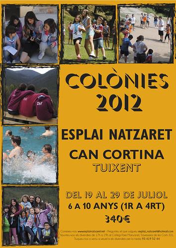 Colònies Estiu 2012 Esplai Natzaret