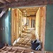 Interior Corridor - Brockwood Park School Pavilions Project