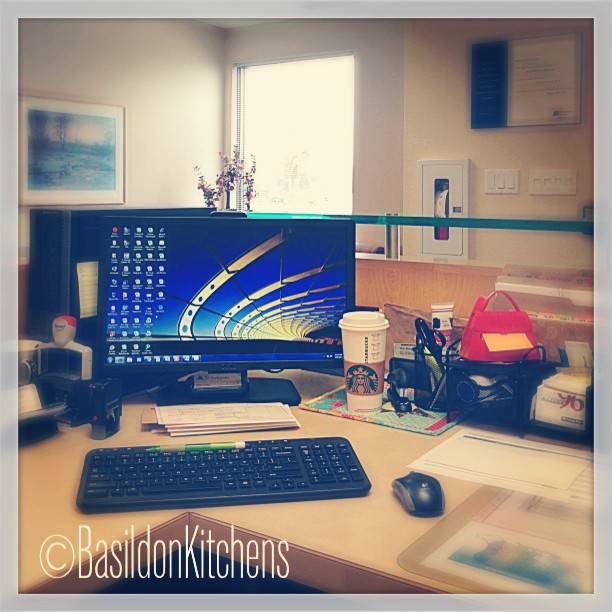 May 28 - what I'm doing right now {I'm @ work} #TitleFx #fmsphotoaday #work #office #computer