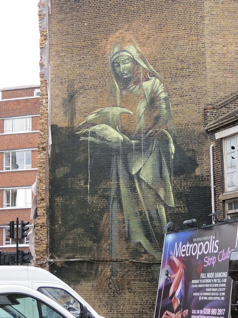 Shoreditch street art - Faith47
