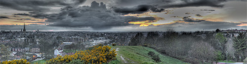 Norwich Spring Storm Panorama