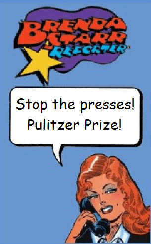 Pulitzer Prize fir Brenda Starr?