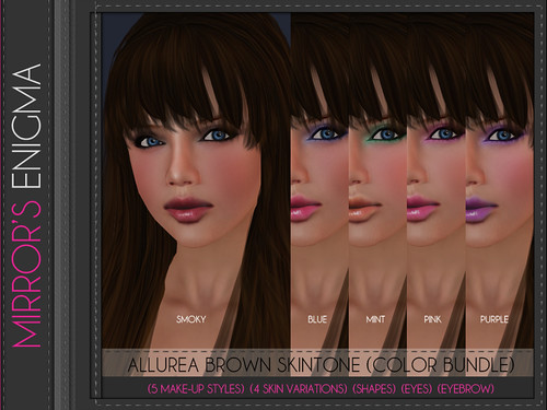 Allurea Brown Color Bundle