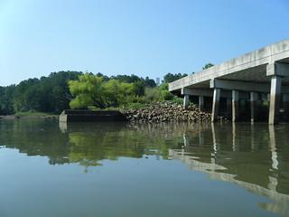 Broad River Road old bridge