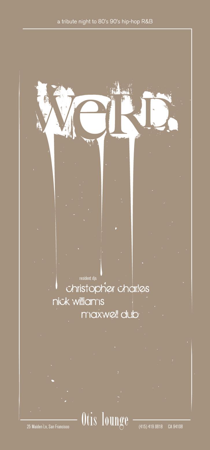 WERD poster