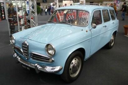 Alfa Romeo Giulietta promiscua Colli 1960