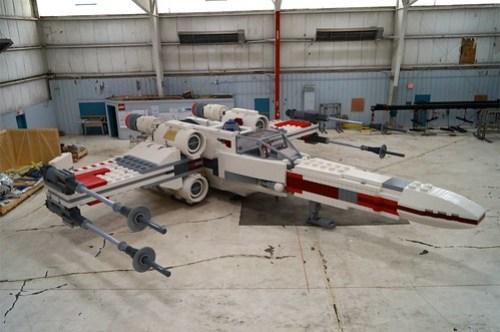Life-size LEGO X-wing (1)