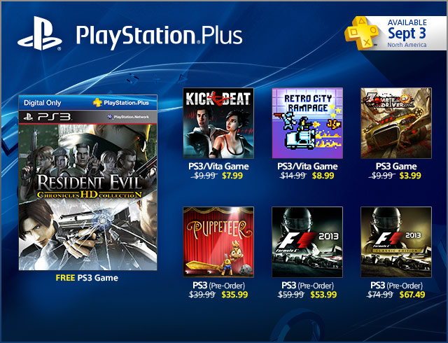 PlayStation Store Update 9-3-2013