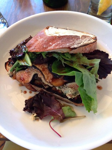 Grilled Fig Panini - 2