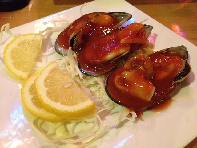 Green mussels - Miyabi Japanese Cuisine