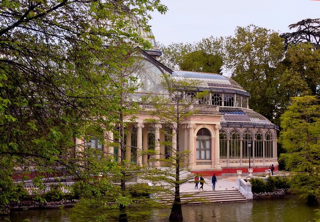 El parque del Retiro en Madrid. Autor, Jim Anzalone