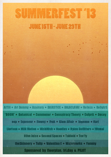 Summerfest Poster 6.14.13