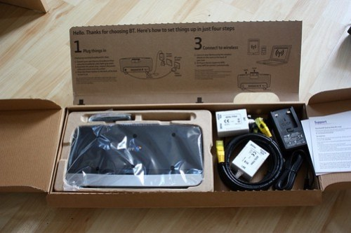 BT Home Hub 4 unboxing