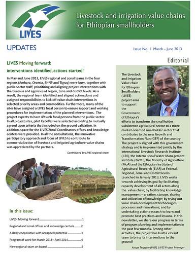 LIVES newsletter