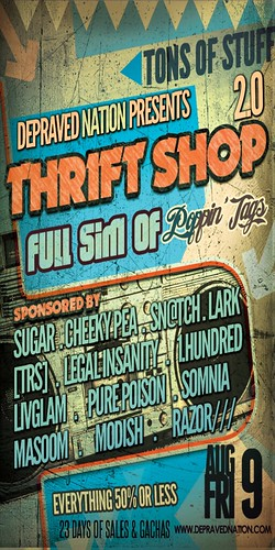 Thrift Shop Flier _ Round 2